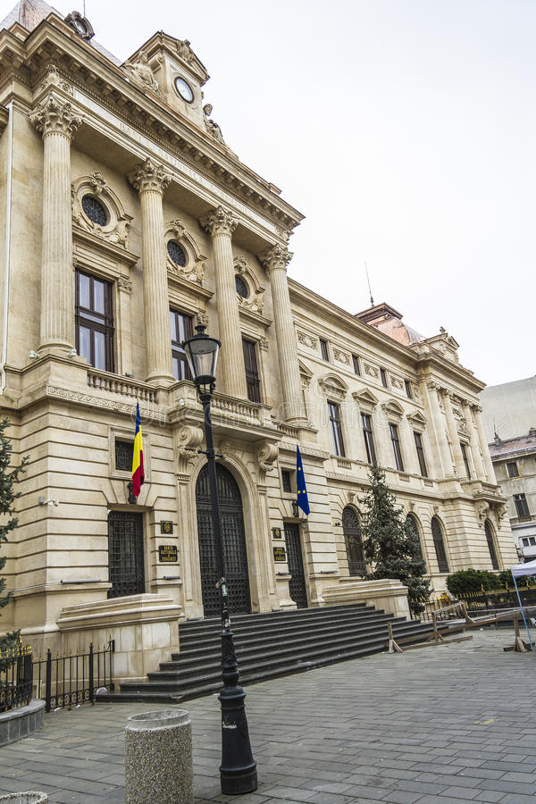 National Bank von Rumänien lizenzfreies stockfoto