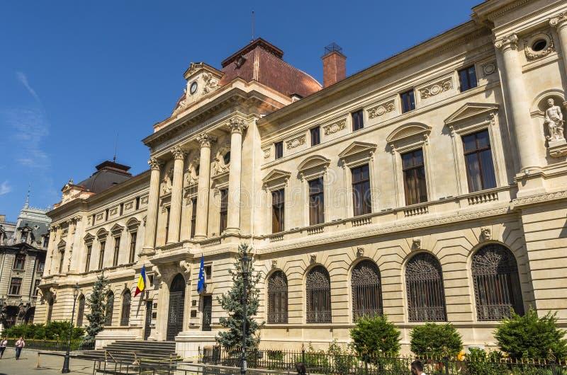 National Bank von Rumänien stockbilder