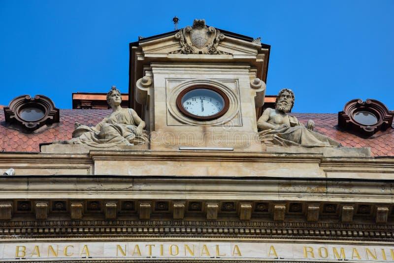 National Bank von Rumänien Banca Nationala ein Romaniei stockfotos
