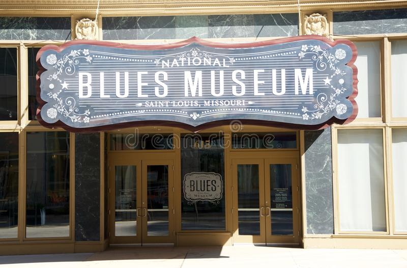 National Blues Museum in St. Louis, Missouri. stock photos