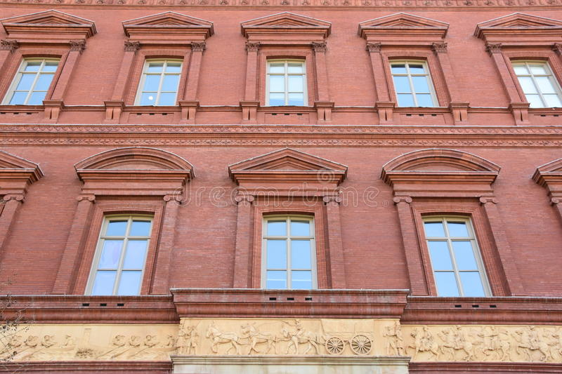 National Building Museum in Washington, DC royalty free stock photography