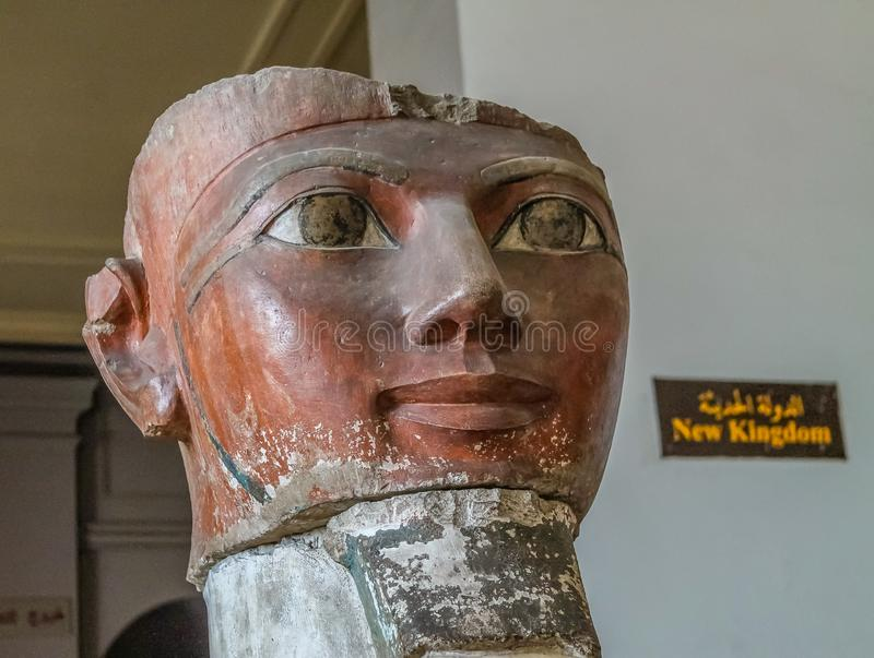 National Cairo Museum Expans dedicated to Ancient Egypt, Pharaohs, Mummies and Egyptian Pyramids. Museum Expans dedicated to Ancient Egypt, Pharaohs, Mummies and royalty free stock image