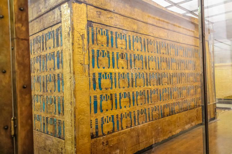 National Cairo Museum Expans dedicated to Ancient Egypt, Pharaohs, Mummies and Egyptian Pyramids. Museum Expans dedicated to Ancient Egypt, Pharaohs, Mummies and stock photography