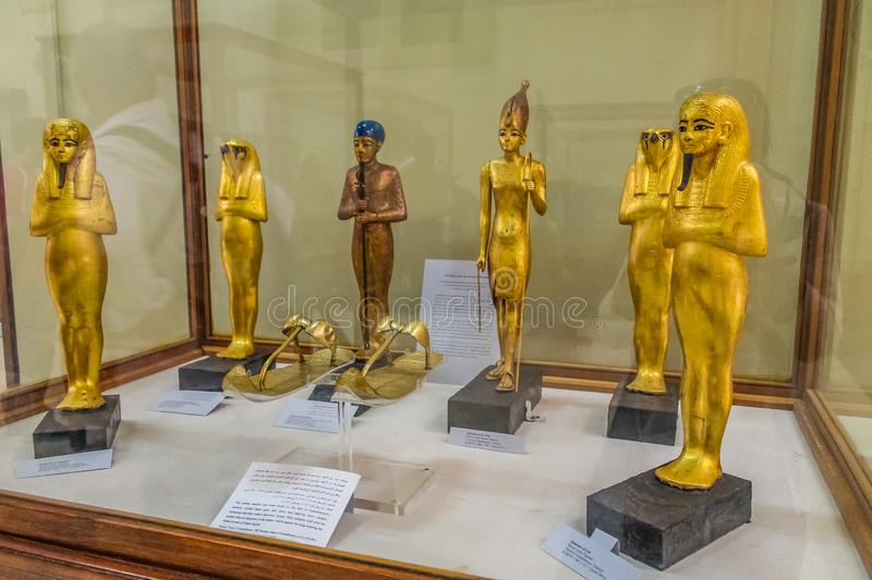 National Cairo Museum Expans dedicated to Ancient Egypt, Pharaohs, Mummies and Egyptian Pyramids. Museum Expans dedicated to Ancient Egypt, Pharaohs, Mummies and stock image