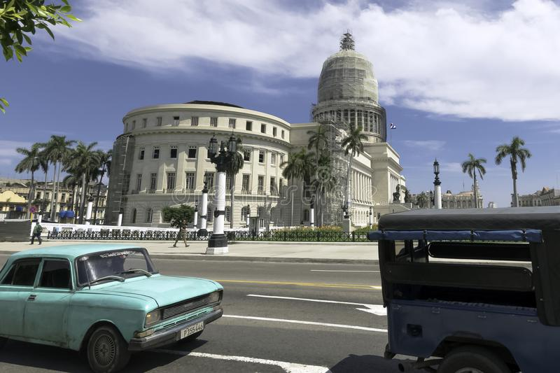 National Capitol Building - El Capitolio in Havana, Cuba royalty free stock image