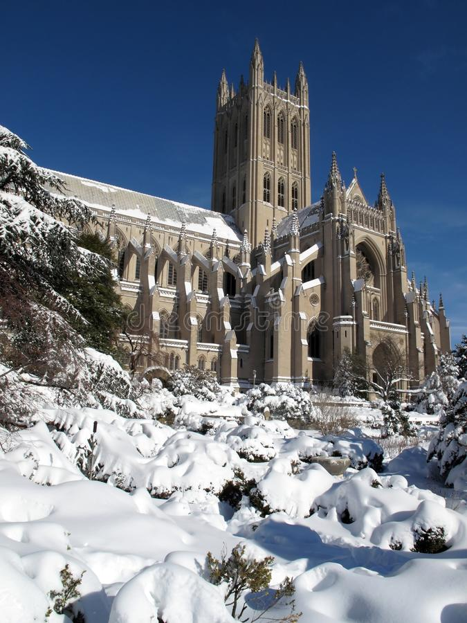 Download National Cathedral In February Stock Image - Image: 13004285