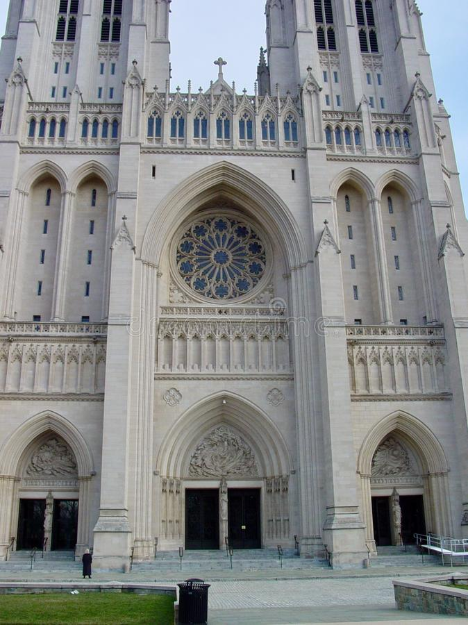 National Cathedral royalty free stock photo