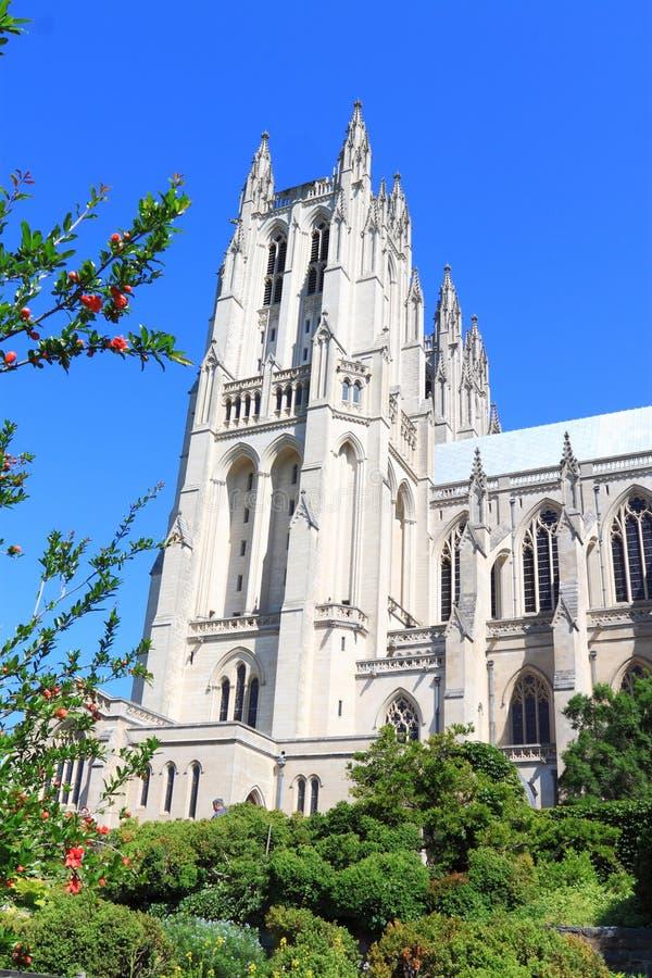 National Cathedral Washington DC stock photo
