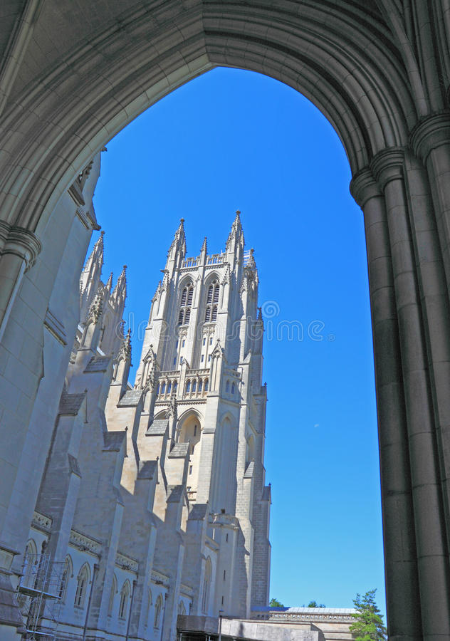 National Cathedral Washington DC stock images