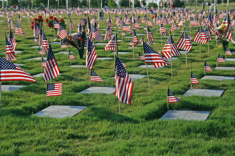Download National cemetery editorial stock image. Image of fathers - 25095269