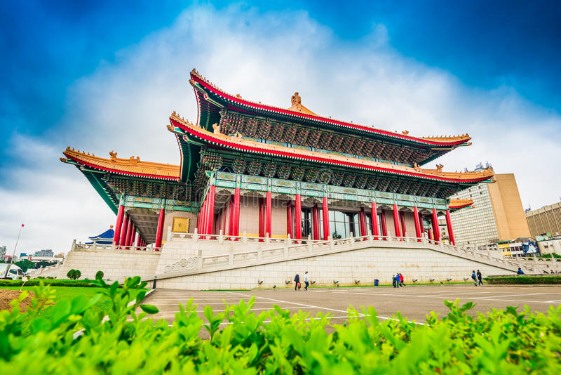 National Chiang Kai-Shek Cultural Center and Concert Hall. Taipei, Taiwan royalty free stock photo