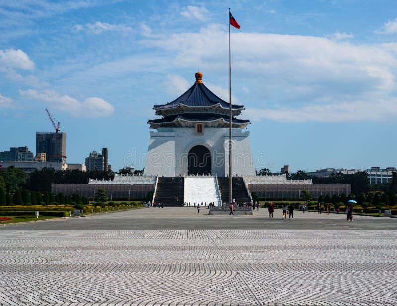 National Chiang Kai-shek Memorial Hall in Taipei Taiwan. National Chiang Kai-shek Memorial Hall and liberty square in Taipei Taiwan royalty free stock images