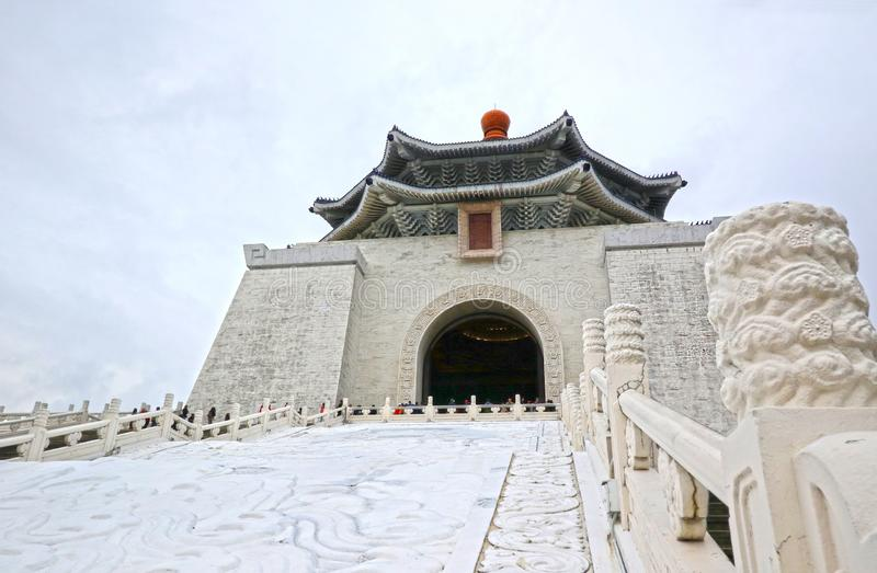 National Chiang Kai-shek Memorial Hall is a national monument, tourist attraction erected in memory of General Chiang Kai-shek, fo stock photography