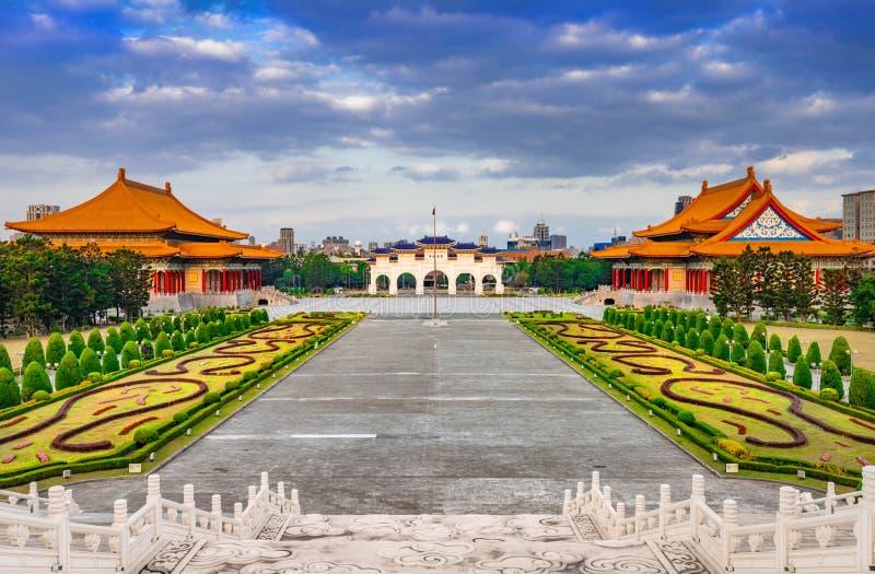 National Chiang Kai-shek Memorial Hall in Taipei, Taiwan.  royalty free stock photography