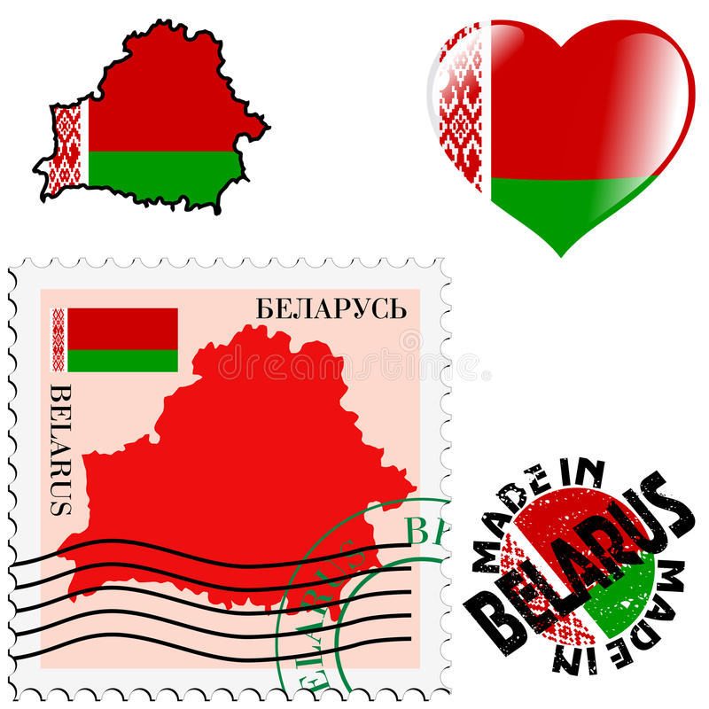 Download National Colours Of Belarus Stock Vector - Image: 33478296