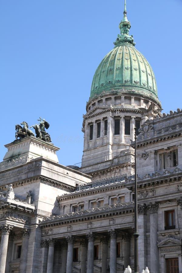National Congress of Argentina stock photo