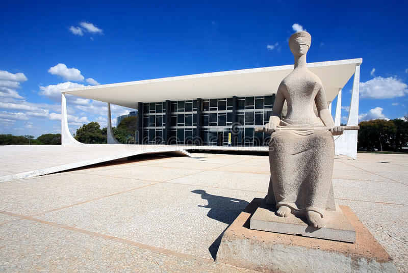 The National Congress of Brazil. royalty free stock image
