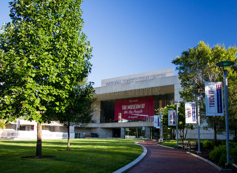 National Constitution Center. In Philadelphia royalty free stock images