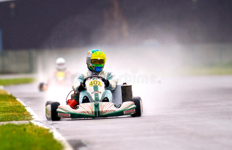 National contest of karting organized by Amckart royalty free stock photography