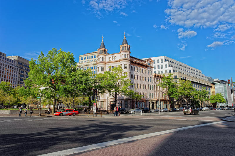 National Council of Negro Women building in Washington DC royalty free stock photos