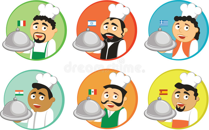 Download National cuisines stock vector. Illustration of food, meal - 9134525