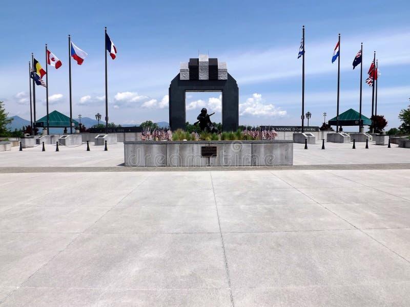 National D-Day Memorial, Bedford, VA, USA royalty free stock photo