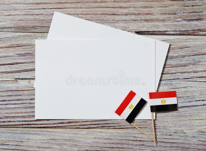 National day of Egypt on 23 July. revolution day. the concept of veterans Day or memorial Day . Egypt glory to the heroes of the. Egypt hanging flag for honour royalty free stock photos