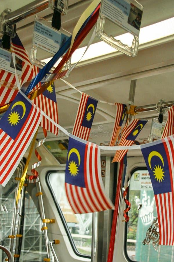 National day in Kuala Lumpur, malaysia stock photo