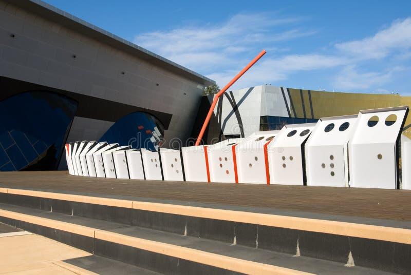 national de musée de l'australie image libre de droits