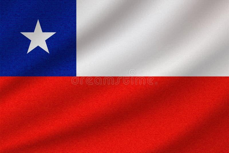 national flag of Chile vector illustration