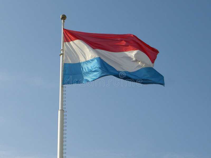 Download National Flag Of Luxembourg Stock Image - Image: 3115977
