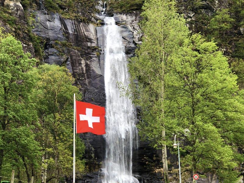National flag of the Swiss Confederation Flag of Switzerland - National Flag of Switzerland. Nationalflagge der Schweizerischen Eidgenossenschaft Offizielle stock images