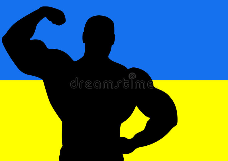Download Ukraine stock vector. Image of black, body, male, lifestyle - 29959892