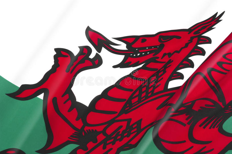 National Flag of Wales stock images