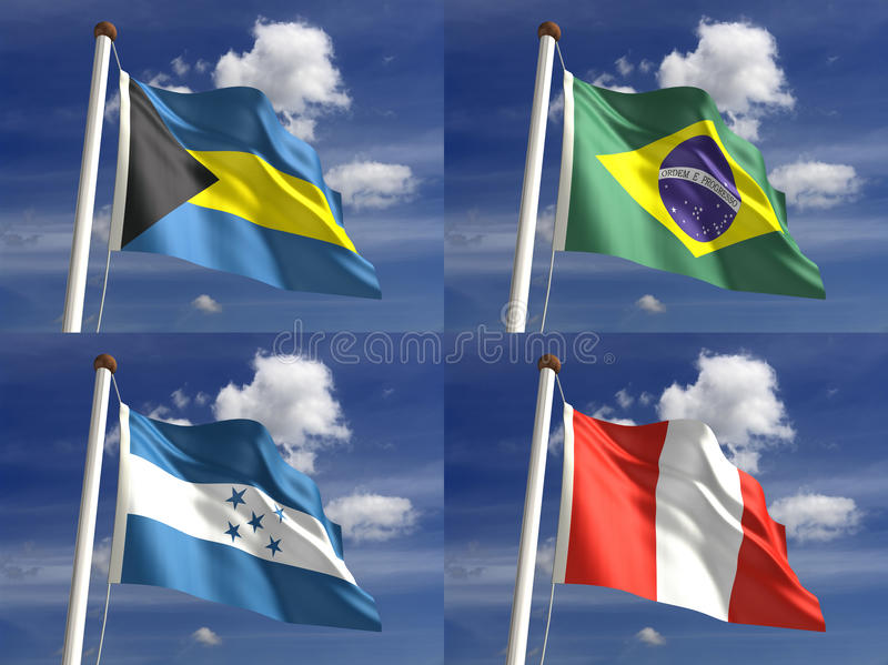 Download National Flags stock illustration. Illustration of national - 28342324