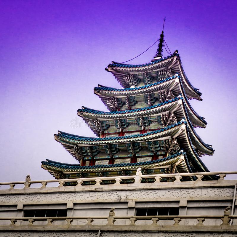 National Folk Museum of Korea royalty free stock image