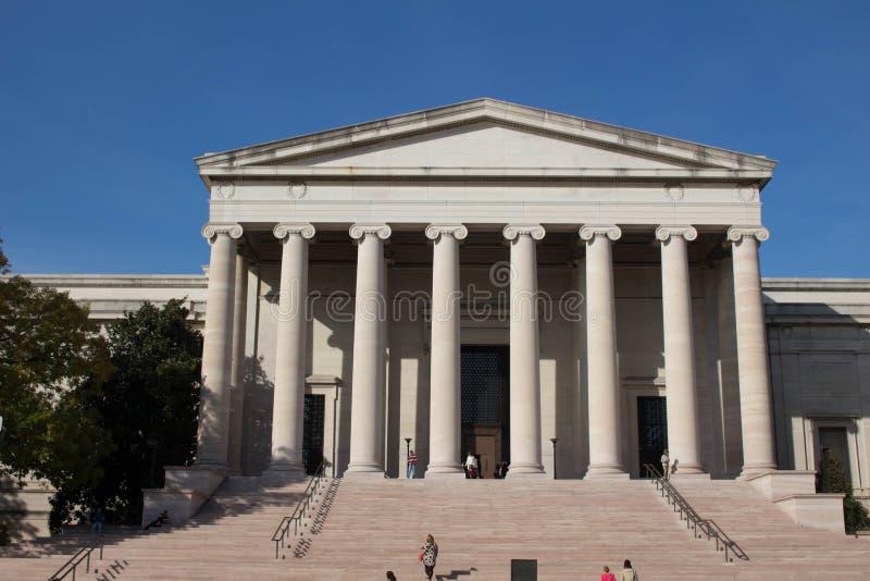 National Gallery της τέχνης στοκ εικόνα