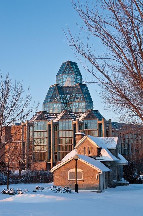 National Gallery av Kanada i Ottawa royaltyfri bild
