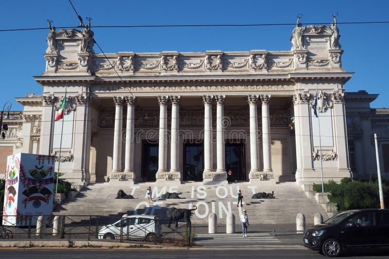 National Gallery av modern konst i Rome, Italien royaltyfri foto