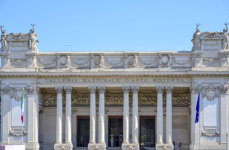 National Gallery av moderna Art Rome, Italien arkivfoton