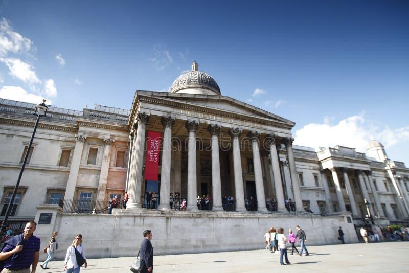 National Gallery av UK arkivbild