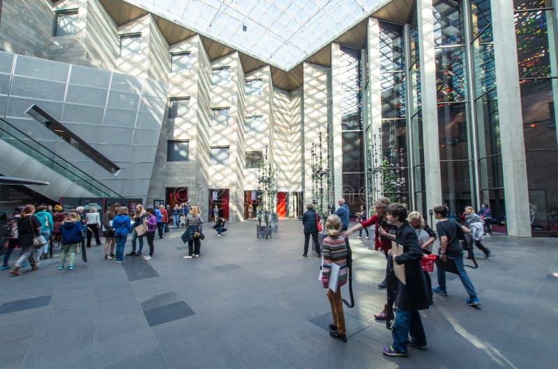 National Gallery av Victoria i Melbourne, Australien arkivfoto