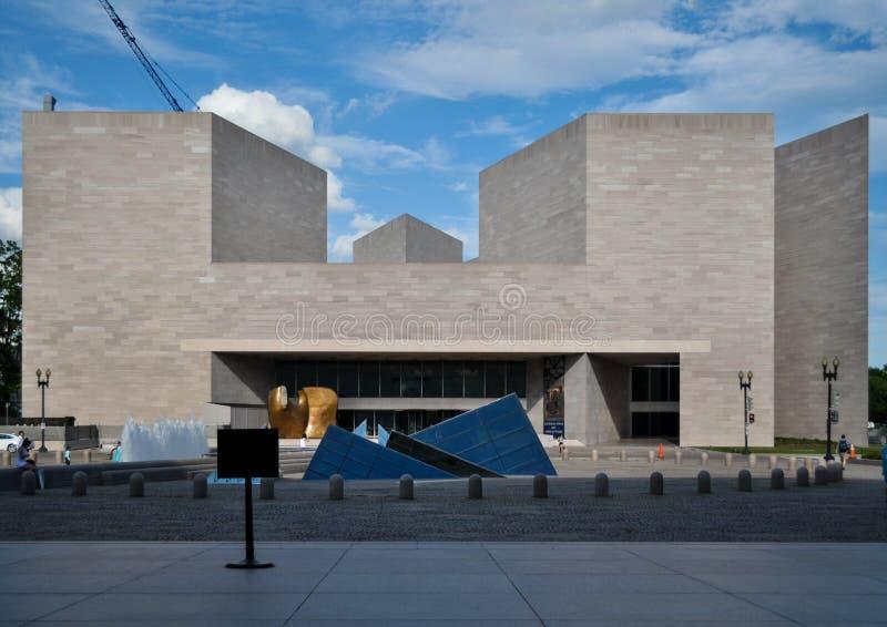 National Gallery d'art, bâtiment est images libres de droits