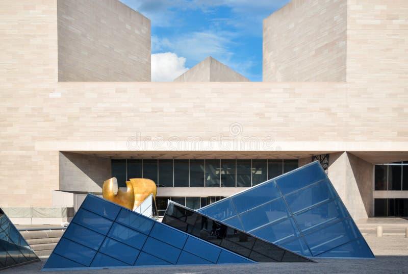 National Gallery d'art, bâtiment est photographie stock libre de droits