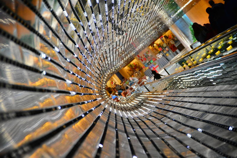 National Gallery d'art, passage couvert mobile. photo stock
