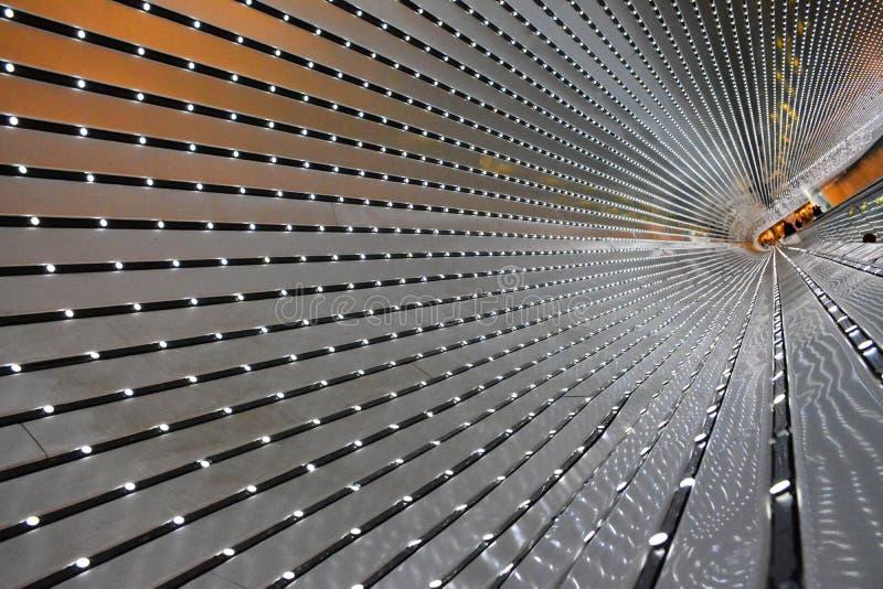 National Gallery d'art, passage couvert mobile. images libres de droits