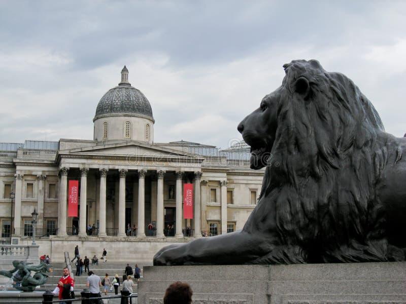 National Gallery de Londres imágenes de archivo libres de regalías