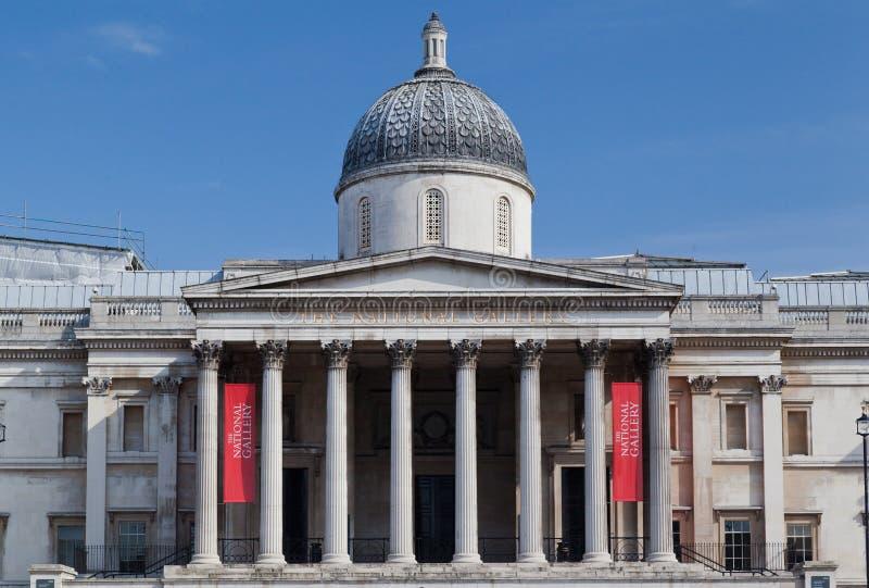 National Gallery de Londres foto de archivo libre de regalías