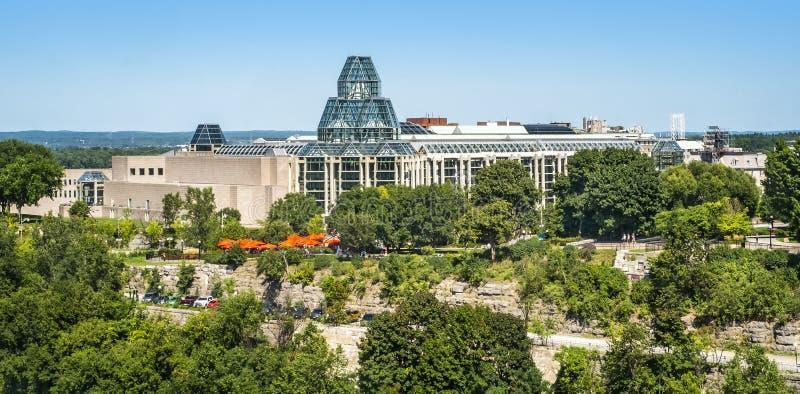 National Gallery de ville du Canada d'Ottawa photo libre de droits