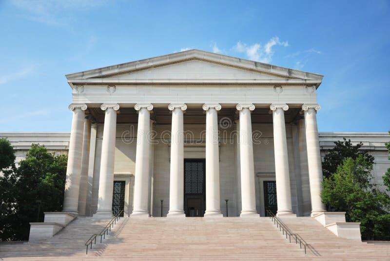 National Gallery di arte in Washington DC immagine stock libera da diritti